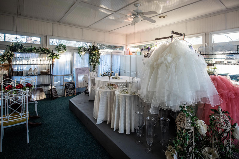 Wedding venue design center