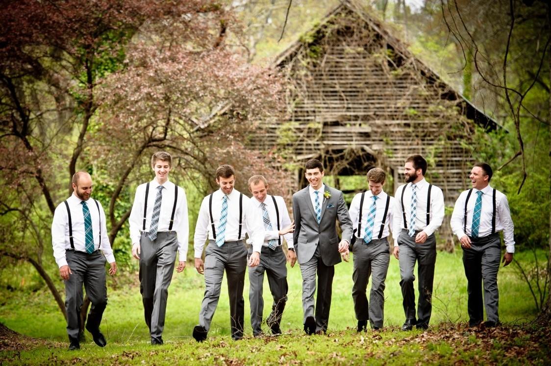 alex groomsmen lower garden w barn april 12