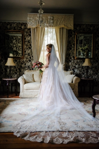 oct bride dress in library b