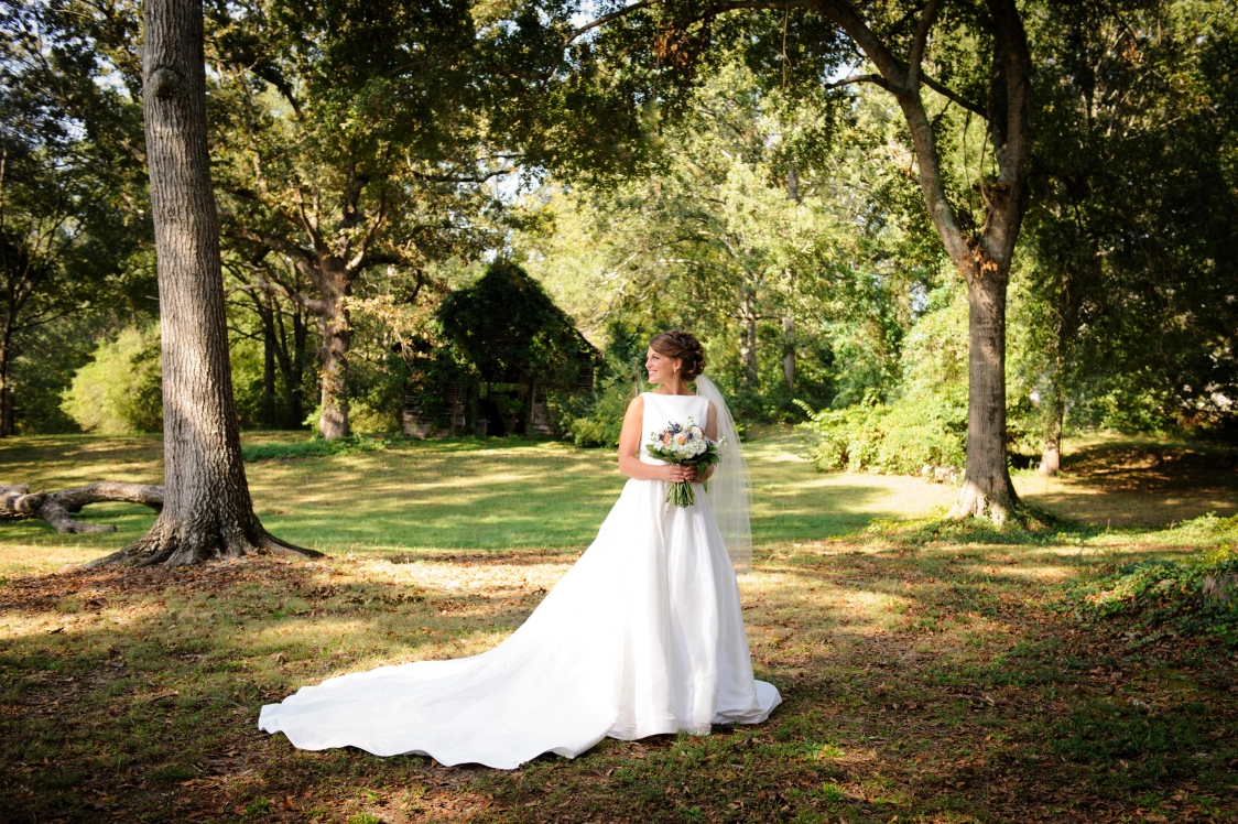 October Bride at Magnolia Manor